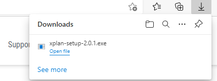 download finished